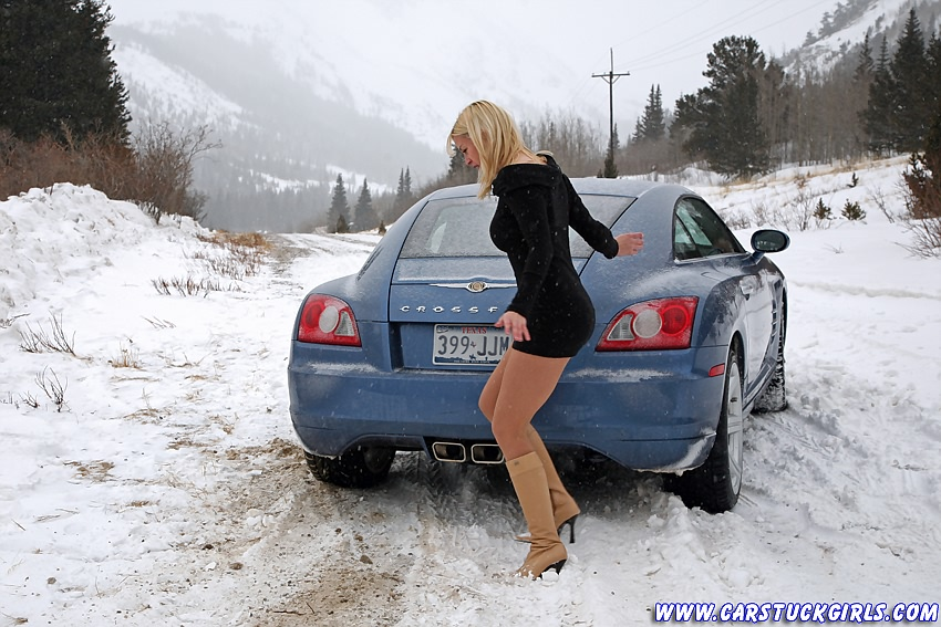 Babe Stuck In Snow