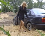 Click here to see me stuck in sand!