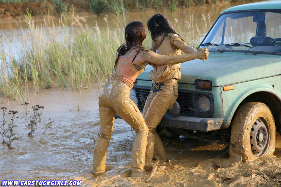 Stuck Girls Off Road Pictures