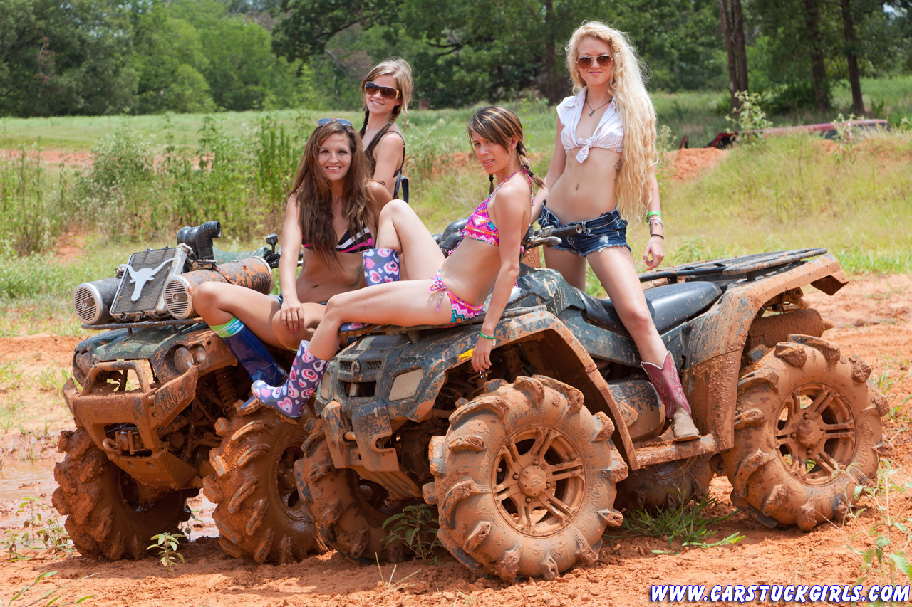 country girls in mud nude
