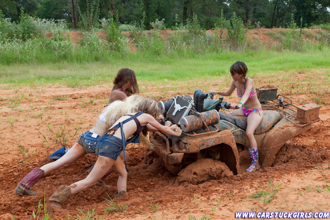 Naked country girls in the mud indeed