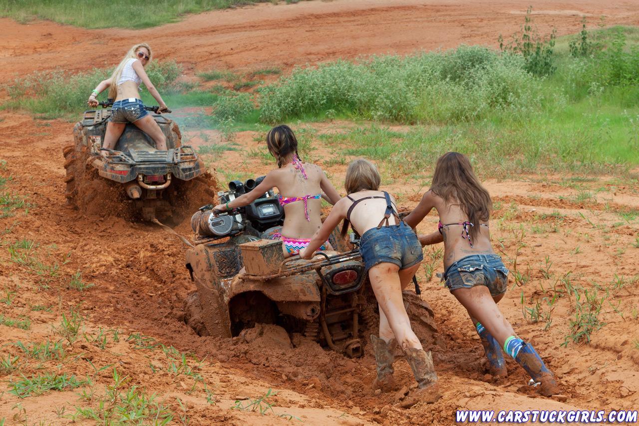 naked women on fourwheelers