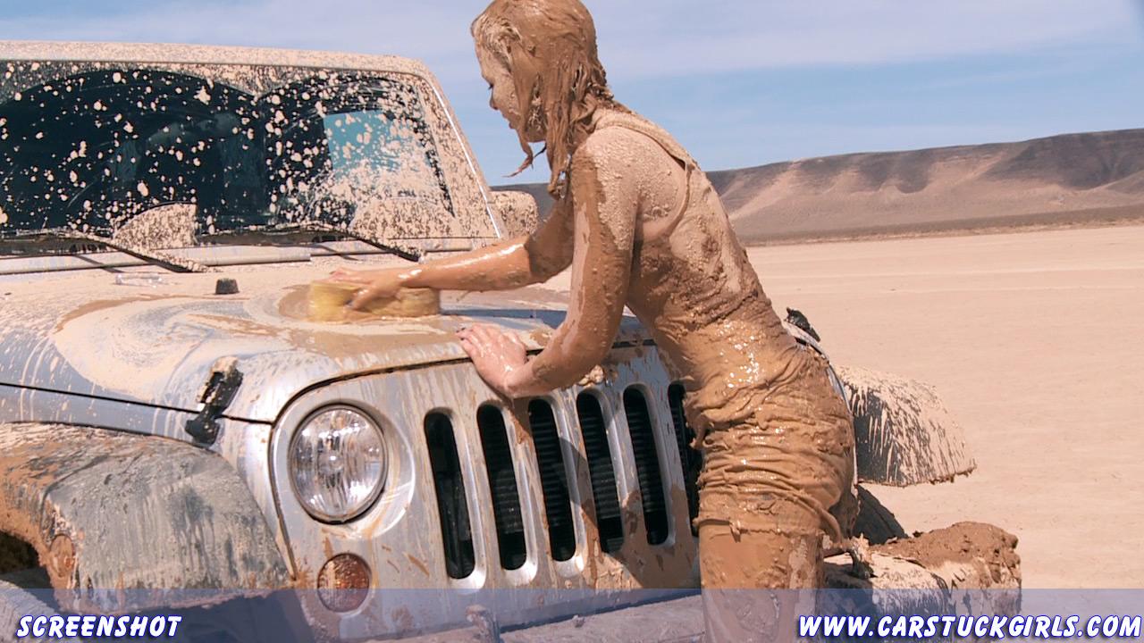 Car stuck girls naked useful
